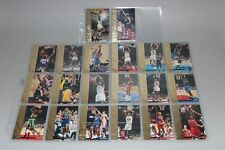 1994-1995 Upper Deck Shawn Kemp Slam Dunk Stars komplettes Set