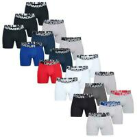 "UNDER ARMOUR MENS CHARGED COTTON 6"" STRETCH BOXERJOCK UNDERWEAR 3-PACK"