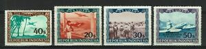 Indonesia Local Issued Vienna Printings Repoeblik Indonesia section 3 Planes