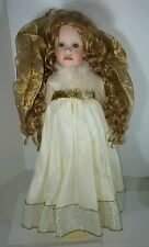 The Doll Maker Christmas Angel Doll 24 inches Signed by Linda Rick # 165/1000