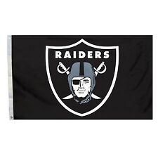 Raiders Tailgate Flag 3x5 NFL Deluxe All Pro Banner