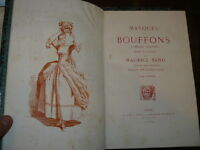 Sand Maurice, Masques et Bouffons (comedie italienne)  1862 illustrazioni