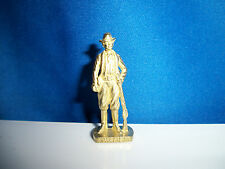 BILLY the KID Brass Gold Figure AMERICAN WILD WEST Kinder Surprise Metal Soldier