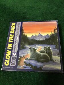 Jigsaw Puzzle Glow in the Dark Winters Dawn 1000 Piece