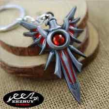 Iron Solari Leona Shield League of Legends LOL Weapon Metal Keyring Keychain