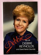 DEBBIE- ACTRESS/SINGER DEBBIE REYNOLDS SIGNED 1ST HB-UNREAD-VERY GOOD CONDITION
