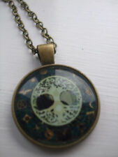 Tree of Life Bronze Costume Necklaces & Pendants