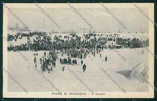 Modena Lama Mocogno Piane di Gare Sci cartolina EE7689