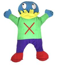 Abrams Alphabet Letter People Mr. X Different Teaching Hand Puppet