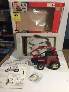 Britains Farm 9516 Valet Logging Tractor In Original Box 1989