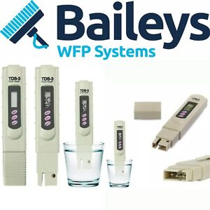 Digital TDS 3 Water Quality Tester Purity meter. Window cleaning