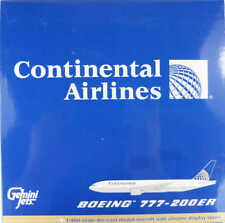 Boeing 777-200ER Continental Airlines N37018 Gemini Jets 1:400 in OVP [M9]
