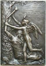médaille exposition universelle de Paris 1900 bronze argenté