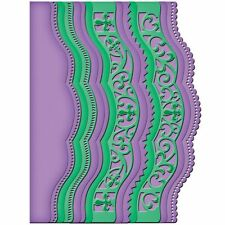 Spellbinders card creator - scalloped borders two -s5-202