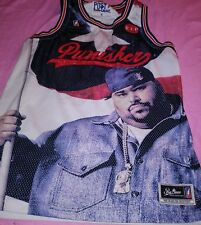 Post Game Big Pun Punisher RIP Puerto Rican  Basketball Jersey Xl Rare Flawed