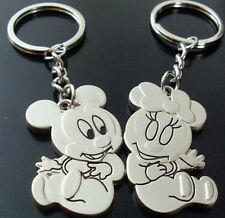 lovers keychain gifts couples key ring circle cartoon Mickey Mouse & Minnie #1