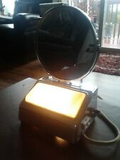 Vintage light up makeup mirror