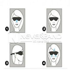 Color random Eye Mask Travel 3D Sleep Sleeping Soft Cover Shade Plane Blindfold