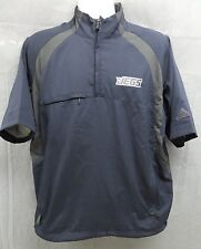 New Mens Adidas ClimaProof Jegs Logo Wind Short Sleeve Jacket Size Medium M