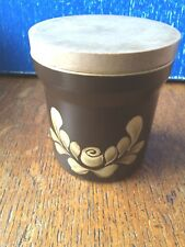 Vintage Denby Bakewell Medium Storage Jar 10.5 cm diameter 12 cm Height