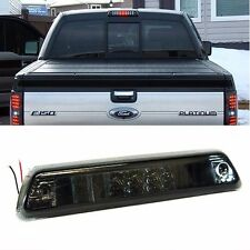 2009-2014 Ford F150 Full L.E.D. LED Tint Smoke 3RD Third Brake Cargo Light Stop