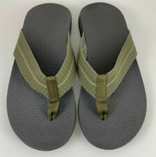 Chaco Men's Waypoint Cloud Sandals Flip Flops Green Size 8
