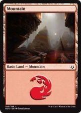 4 x Mountain (196/199) - Hour of Devastation - Magic the Gathering MTG