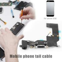 Charging Port Dock Connector Headphone Audio Jack for iPhone 5SE Flex Cable