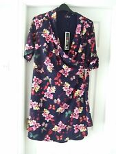 BNWT SIZE 16 LOVEDROBE WRAPOVER DRESS