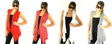 Polyester Machine Washable Solid Vests for Women