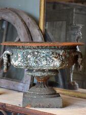 Large French garden urn from Château de Beaune, Burgundy
