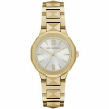 KARL LAGERFELD Women's 34mm Joleigh Gold Tone Watch KL3403 BRAND NEW!  $250.00