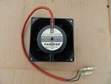 """Papst Pamotor Model 8500 Fan -115 Volt-50/60 Hz-18 Watts-3 1/8"""" Sq x 1 1/2"""" Guc"""