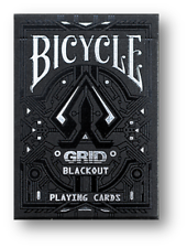 Limited Edition Bicycle Grid Blackout Playing Cards Poker Spielkarten Cardistry