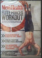 DVD Men's Health Elite Forces Workout [NEW&SEALED]