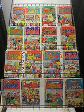 Archie Comics Reader's Lot of 39Diff Feat: Jughead Reggie Mr. Weatherbee Laugh!