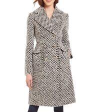 Ivanka Trump Womens Boucle Double-Breasted Wool Midi Coat Outerwear BHFO 8076