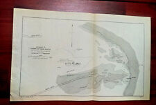 1892 Map Entrance to Cumberland Sound Georgia Florida The Franconia Boiler