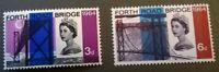 Great Britain SC 418p-419p * SG 639p-640p  MNH 1964 Phosphor Commemorative Set
