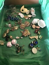 Junk Drawer lot Miscellaneous Jewelry And Other Nic Nak Items