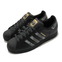 adidas Originals Superstar Black Gold Grey Camo Men Women Unisex Classic FX9087