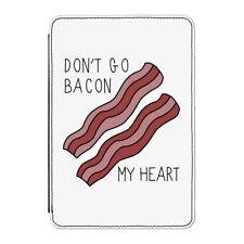 """Don'T Go Bacon My Heart Funda para Kindle 6"""" E-Reader - Divertido San Valentín"""