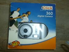 iClick Digital Camera 360, 4 in 1 #DC03600 New in box! Free Shipping!