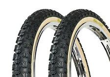 BMX OLD SCHOOL COMP3 TYRES TIOGA SKIN WALL SOLD IN PAIRS 20 X 2.125 RE ISSUE