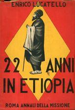 22 Anni in Etiopia