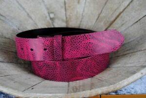"""Umjubelt Ledergürtel """"Gobi-Gecko pink"""""""