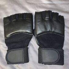 MMA / Boxing Men's Black Gloves