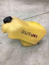 84-85 1984 RM250 GAS FUEL TANK CELL WITH CAP VALVE PETCOCK