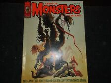 Vintage HORROR Magazine FAMOUS MONSTERS OF FILMLAND Issue#116/Convention first