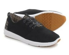 * New * TOMS Mens 'Viaje' Black Suede Casual Lace Up Sneakers tribal Sz US 9.5